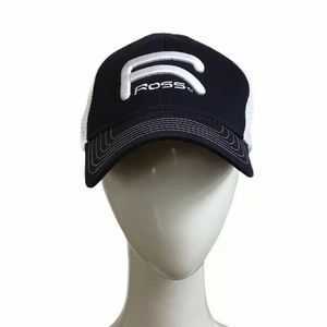 Ross Reels Hat Raised Logo Fly Fishing Ball Cap